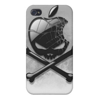 Iphone 4S - Apple Skull and Bones iPhone 4/4S Case