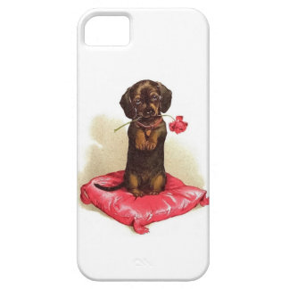 iPhone 5/5S, Barely There Case DACHSHUND PUPPY iPhone 5 Covers