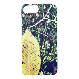 iPhone 5/5S, Barely There, the print of leaf iPhone 7 Case