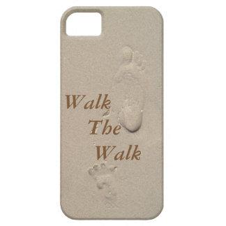 iPhone 5/5S Beach Footprint Case