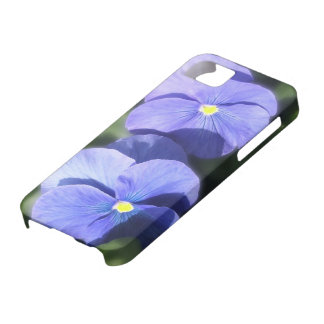 iPhone 5/5S Case - Blue Pansy Sisters