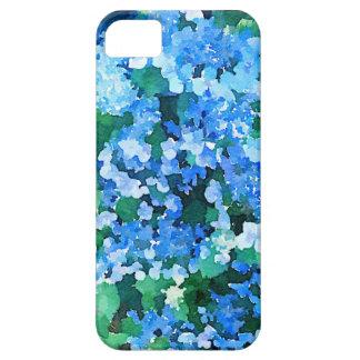 iPhone 5/5s Case Hydrangea watercolor