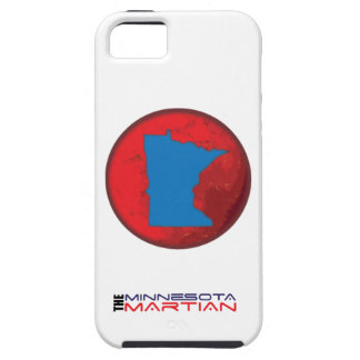 IPhone 5/5S case with Minnesota Martian logo