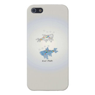 iPhone 5/5S Glossy Finish Case With Koi Fish