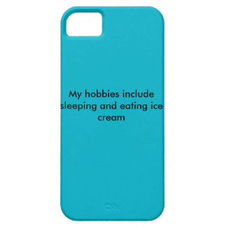 iPhone 5/5s My Hobbies Include Sleeping and....... Barely There iPhone 5 Case