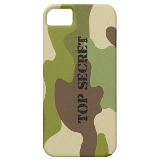 iPhone 5/5S Phone  case top secret camouflage