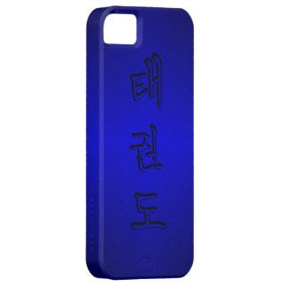 iPhone 5/5S: TaeKwonDo 태권도 (Korean Hangul) iPhone 5 Cases