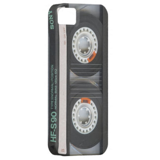 iPhone 5 Black Retro Cassette Case Old School 1980 iPhone 5 Cover