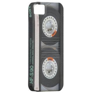 iPhone 5 Black Retro Cassette Case Old School 1980