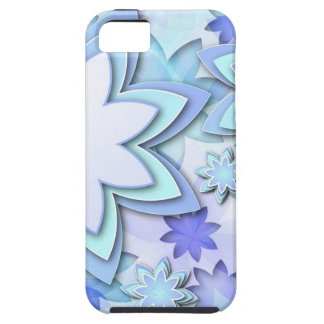 iPhone 5 Case abstract lotus flowers