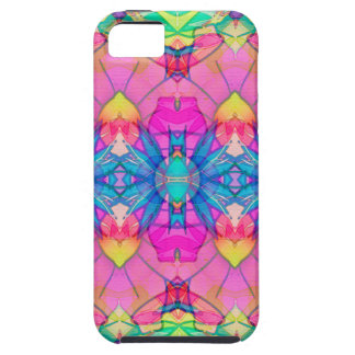 iPhone 5 Case Fractal Geometric Flowers