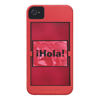 iPhone 5 Case - ¡Hola! - Shades of Red and Pink