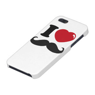 iPhone 5 Case - I Love Mustaches