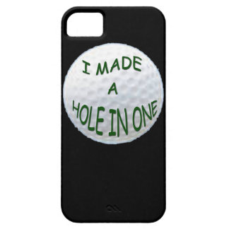 iPhone 5 Case - I Made a Hole in One