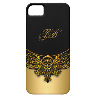 iPhone 5 Case-Mate Case Gold Black