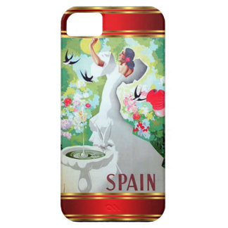 IPhone 5 Case-Mate Case Vintage Spain Barely There iPhone 5 Case
