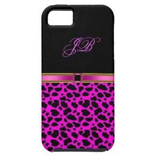 iPhone 5 Case-Mate Case Wild Pink Black
