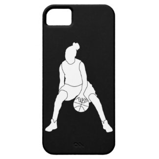 iPhone 5 Case-Mate Dribble Silhouette White Black
