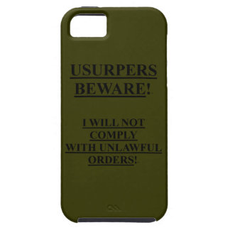 iphone 5 Case-Mate Vibe OD Green Case w/ Usurpers iPhone 5 Case
