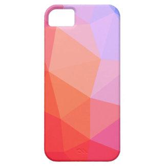 Iphone 5 case pink gradient colors