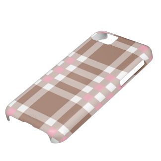 iPhone 5 Case - Solid Plaid - Seahorsess