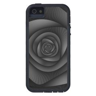 iPhone 5 Case  Spiral Labyrinth in Monochrome