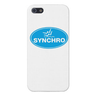 IPHONE 5 CASE - Synchronized Swimming - Icon