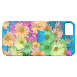 iPhone 5 Case with Crazy Color Carnations