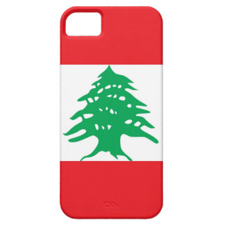 IPhone 5 Case with Flag of Lebanon