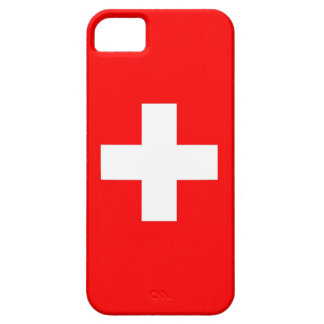 IPhone 5 Case with Flag of Switzerland
