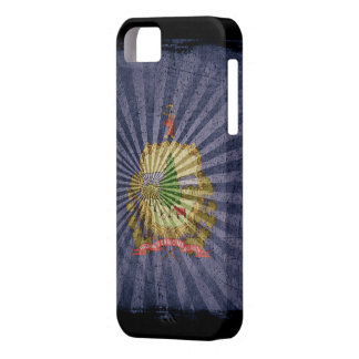 Iphone 5 Case with state flag of Vermont