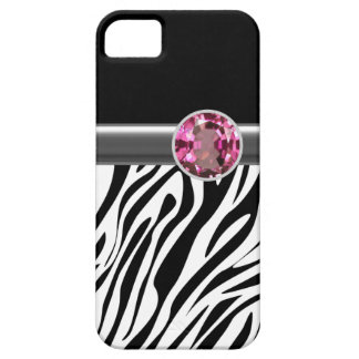iPhone 5 Case Zebra Bling iPhone 5 Cases