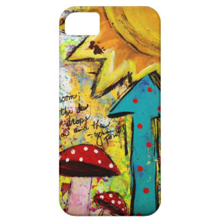 iPhone 5 Cell Phone Case, Cover, Art design, Sun iPhone 5 Cover