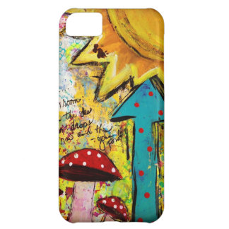 iPhone 5 Cell Phone Case, Cover, Art design, Sun iPhone 5C Case