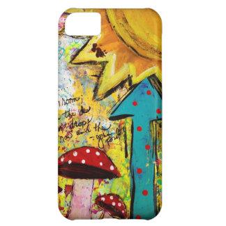 iPhone 5 Cell Phone Case, Cover, Art design, Sun iPhone 5C Case