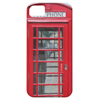 iPhone 5: Classic red telephone box photo Barely There iPhone 5 Case