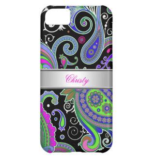 iPhone 5 Elegant Classy Pink Paisley Pattern iPhone 5C Case