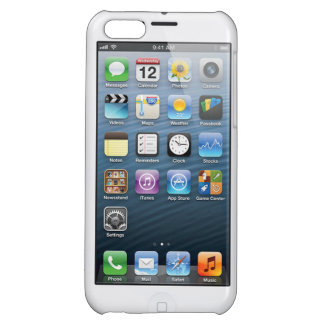 Iphone 5 fake Home screen Case iPhone 5C Cover