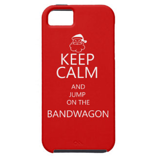 iPhone 5 fun christmas case with Keep Calm iPhone 5 Case