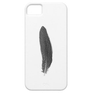 Iphone 5 Hoesje guinea fowl feather Case For The iPhone 5