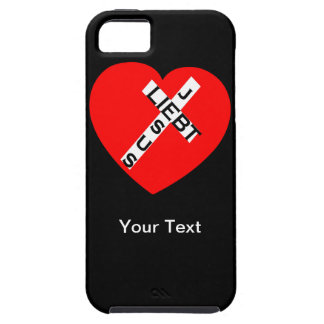 iPhone 5 - Jesus loves - your text - template iPhone 5 Cases