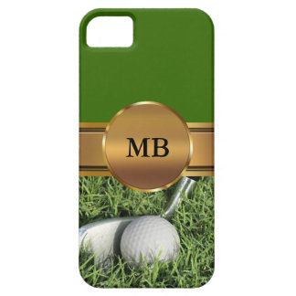 iPhone 5 Monogram Golf Cases