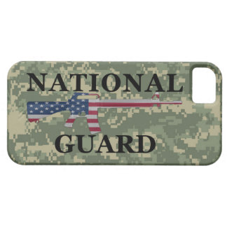 iPhone 5 National Guard Green Camo Barely There iPhone 5 Case