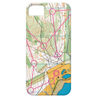 iphone 5 - orienteering map iPhone 5 covers