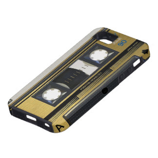 iPhone 5 Retro Old School Case Throw Back Cassette iPhone 5 Cover