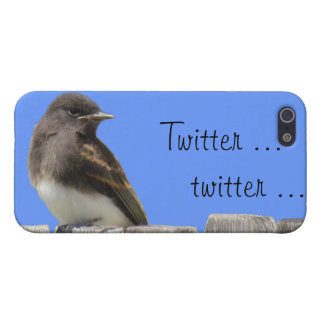iPhone  5 Savvy - Flycatcher on fence iPhone 5 Cover