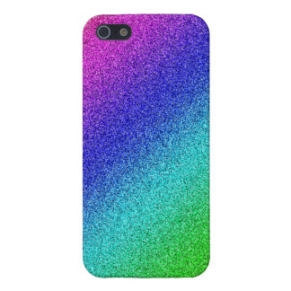 iPhone 5 shining finish covering rainbow glitter iPhone 5/5S Covers