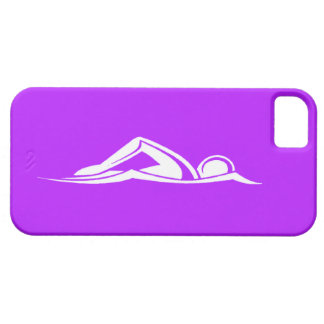 iPhone 5 Swim Logo Purple Case For The iPhone 5