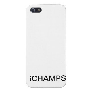 "iPhone 5 ( white ""iCHAMPS"" ) CASE iPhone 5 Cases"