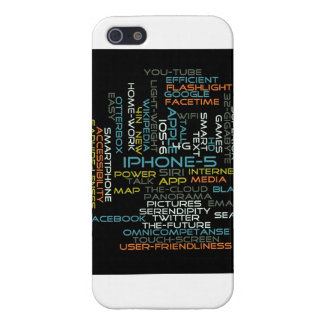 iPhone 5 Word Cloud Case Cover For iPhone 5